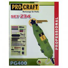 Гравер ProCraft PG-400 Set 234