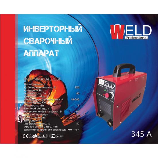 Сварочный инвертор Weld IWM ММА-345 IGBT