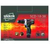 Аккумуляторный шуруповерт Spektr SCD-18-38 с набором инструмента