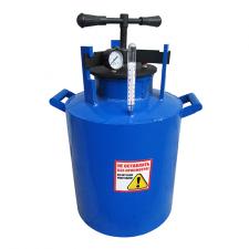 Большой газовый автоклав  на 14 литровых или 20 поллитровых банок