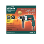 Дрель ударная Spektr SID-1450