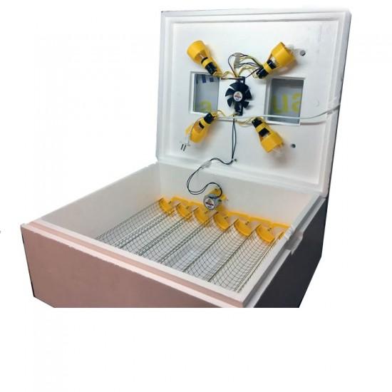 Инкубатор автоматический Теплуша ИБ-63 220/50 ЛА (Ламповый)