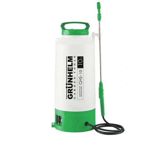 Опрыскиватель аккумуляторный Grunhelm GHS-10 (10 литров)
