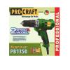 Сетевой шуруповерт ProCraft PB-1350
