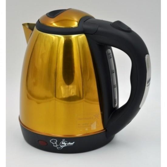 Чайник 1,2 л My Chef МС 002 золотой